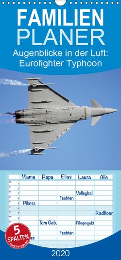 Augenblicke in der Luft: Eurofighter Typhoon – Familienplaner hoch (Wandkalender 2020 , 21 cm x 45 cm, hoch) von Prokic,  Aleksandar