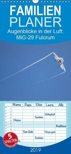 Augenblicke in der Luft: MiG-29 Fulcrum – Familienplaner hoch (Wandkalender 2019 , 21 cm x 45 cm, hoch) von Prokic,  Aleksandar