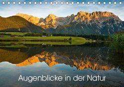 Augenblicke in der Natur (Tischkalender 2019 DIN A5 quer) von Faulhaber,  Birgit
