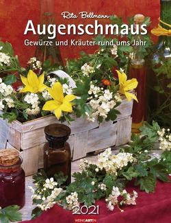 Augenschmaus Kalender 2021 von Bellmann,  Rita, Weingarten