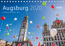 Augsburg 2020 (Tischkalender 2020 DIN A5 quer) von Liesz,  Norbert