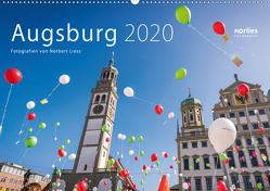 Augsburg 2020 (Wandkalender 2020 DIN A2 quer) von Liesz,  Norbert
