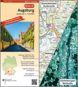 Augsburg von BKG - Bundesamt für Kartographie und Geodäsie