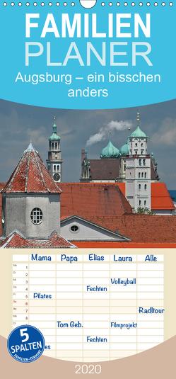 Augsburg – ein bisschen anders – Familienplaner hoch (Wandkalender 2020 , 21 cm x 45 cm, hoch) von Ratzer,  Reinhold