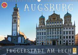 Augsburg – Fuggerstadt am Lech (Wandkalender 2019 DIN A3 quer) von Cross,  Martina