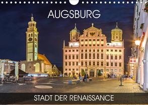 Augsburg – Stadt der Renaissance (Wandkalender 2020 DIN A4 quer) von Thoermer,  Val