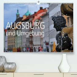 Augsburg und Umgebung (Premium, hochwertiger DIN A2 Wandkalender 2020, Kunstdruck in Hochglanz) von Ratzer,  Reinhold