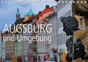 Augsburg und Umgebung (Tischkalender 2018 DIN A5 quer) von Ratzer,  Reinhold
