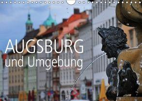 Augsburg und Umgebung (Wandkalender 2018 DIN A4 quer) von Ratzer,  Reinhold
