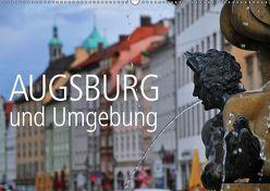 Augsburg und Umgebung (Wandkalender 2019 DIN A2 quer) von Ratzer,  Reinhold