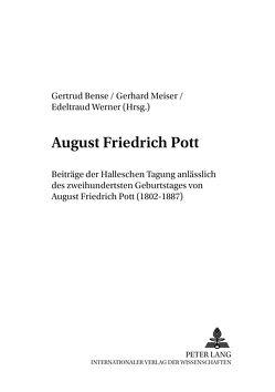 August Friedrich Pott von Bense,  Gertrud, Meiser,  Gerhard, Werner,  Edeltraud