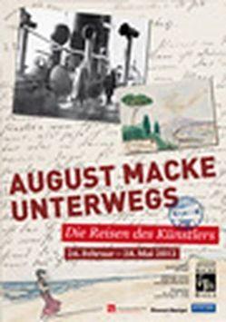 August Macke unterwegs von Drenker-Nagels,  Klara, Gerhardt,  Walter, Marks-Hanssen,  Beate