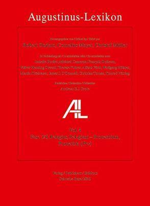 Augustinus-Lexikon / Pelagius, Pelagiani – Quies, requies von Dodaro,  Roberto, Mayer,  Cornelius, Mueller,  Christof