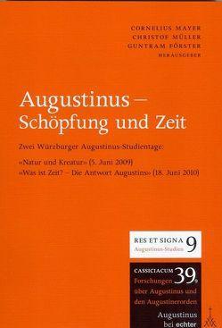 Augustinus – Schöpfung und Zeit von Förster,  Guntram, Mayer,  Cornelius, Mueller,  Christof