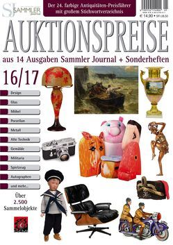 Auktionspreise 16/17 von Eberhardt,  Joscha, Neumeier,  Rudolf, Reddersen,  Gerd