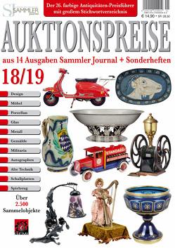 Auktionspreise 18/19 von Eberhardt,  Joscha, Neumeier,  Rudolf, Reddersen,  Gerd