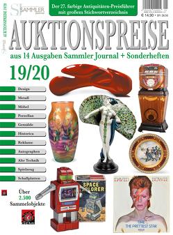Auktionspreise 19/20 von Eberhardt,  Joscha, Neumeier,  Rudolf, Reddersen,  Gerd