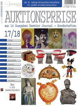 Auktionspreise 17/18 von Eberhardt,  Joscha, Neumeier,  Rudolf, Reddersen,  Gerd