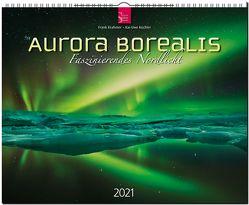 Aurora borealis – Faszinierendes Nordlicht von Krahmer,  Frank, Küchler,  Kai Uwe