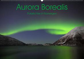 Aurora Borealis: Polarlichter in Norwegen (Wandkalender 2020 DIN A2 quer) von Weiß,  Elmar