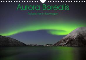 Aurora Borealis: Polarlichter in Norwegen (Wandkalender 2020 DIN A4 quer) von Weiß,  Elmar