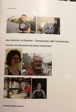 Aus Cammer, in Cammer – Cammeraner oder Cammersche von Koska,  Andreas