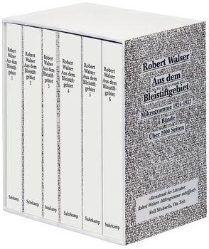 Aus dem Bleistiftgebiet. Mikrogramme aus den Jahren 1924–1933 von Echte,  Bernhard, Morlang,  Werner, Walser,  Robert