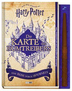 Aus den Filmen zu Harry Potter: Die Karte des Rumtreibers – Eine Reise durch Hogwarts von Cann,  Helen, Knesl,  Barbara, Pascal,  Erinn