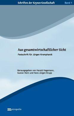 Aus gesamtwirtschaftlicher Sicht von Hagemann,  Harald, Horn,  Gustav, Krupp,  Hans J
