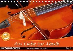 Aus Liebe zur Musik (Tischkalender 2018 DIN A5 quer) von Jäger,  Anette/Thomas