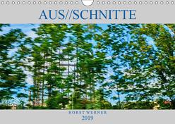 Aus//schnitte (Wandkalender 2019 DIN A4 quer) von Werner,  Horst