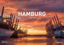 Aus Sehnsucht … Hamburg – Kalender 2019 (Wandkalender 2019 DIN A3 quer) von Maiocchi,  Tommaso