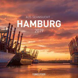 Aus Sehnsucht … Hamburg – Tischkalender 2019 (15 x 15 cm) von Maiocchi,  Tommaso