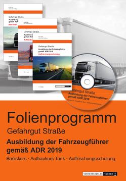 Ausbildung der Fahrzeugführer gemäß ADR 2019 – Gefahrgut Straße – Powerpoint-/Foliensatz-Präsentation von Rex,  Frank