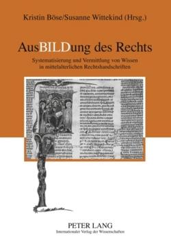 AusBILDung des Rechts von Boese,  Kristin, Wittekind,  Susanne