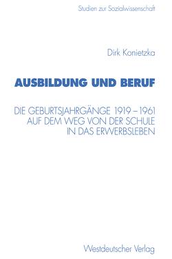 Ausbildung und Beruf von Konietzka,  Dirk