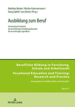 Ausbildung zum Beruf von Balzer,  Lars, Becker,  Matthias, Kammermann,  Marlise, Spöttl,  Georg
