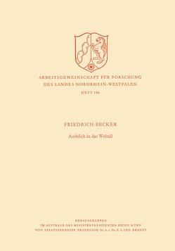 Ausblick in das Weltall von Becker,  Friedrich