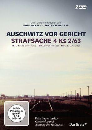 Auschwitz vor Gericht von Bickel,  Rolf, Wagner,  Dietrich