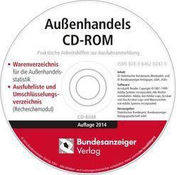 Außenhandels CD-ROM – Ausgabe 2014