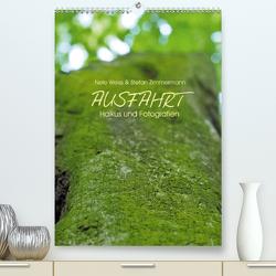 AUSFAHRT – Haikus und Fotografien (Premium, hochwertiger DIN A2 Wandkalender 2021, Kunstdruck in Hochglanz) von Zimmermann,  Stefan