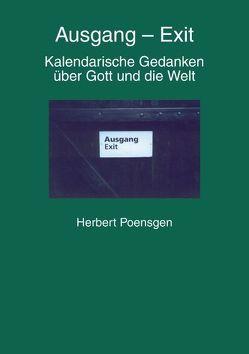 Ausgang – Exit von Poensgen,  Herbert