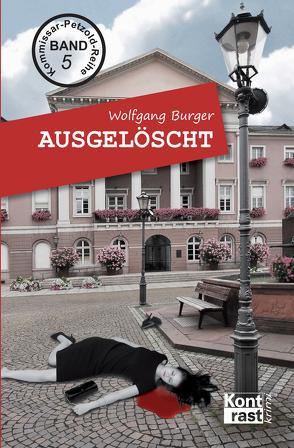 Ausgelöscht von Burger,  Wolfgang