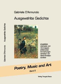 Ausgewählte Gedichte von D'Annunzio,  Gabriele, Günther,  Hans Christian