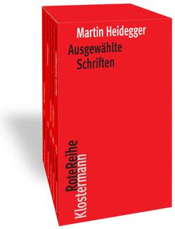 Ausgewählte Schriften. 5 Bände in Kassette von Heidegger,  Martin