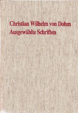 Ausgewählte Schriften von Detering,  Heinrich, Dohm,  Christian W von