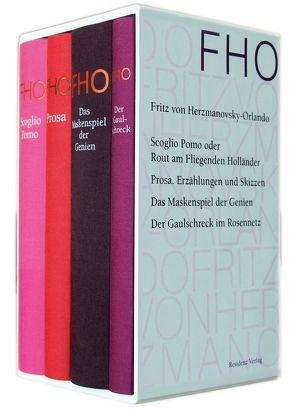 Ausgewählte Werke von Herzmanovsky-Orlando,  Fritz von, Ma-Kircher,  Klaralinda