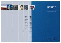 ausgezeichnet | gefördert. Stipendiatinnen und Stipendiaten der Hans und Charlotte Krull Stiftung 2016 – 2018 von Lorenz,  Katharina