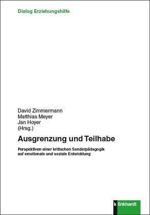 Ausgrenzung und Teilhabe von Hoyer,  Jan, Meyer,  Matthias, Zimmermann,  David