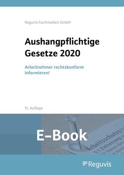 Aushangpflichtige Gesetze 2020 (E-Book)